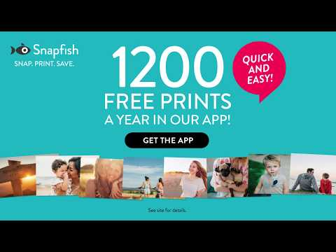 Snapfish | 1200 Free Prints A Year