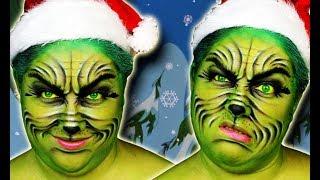 GRINCH: Christmas makeup tutorial