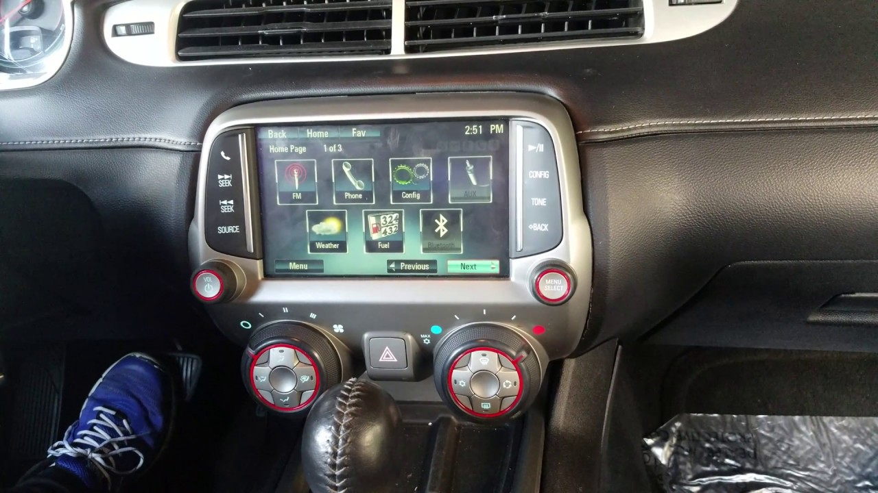 How to Remove Radio / Navigation / Display from Chevy Camaro 2014 for  Camaro Stereo Wiring Schematics on