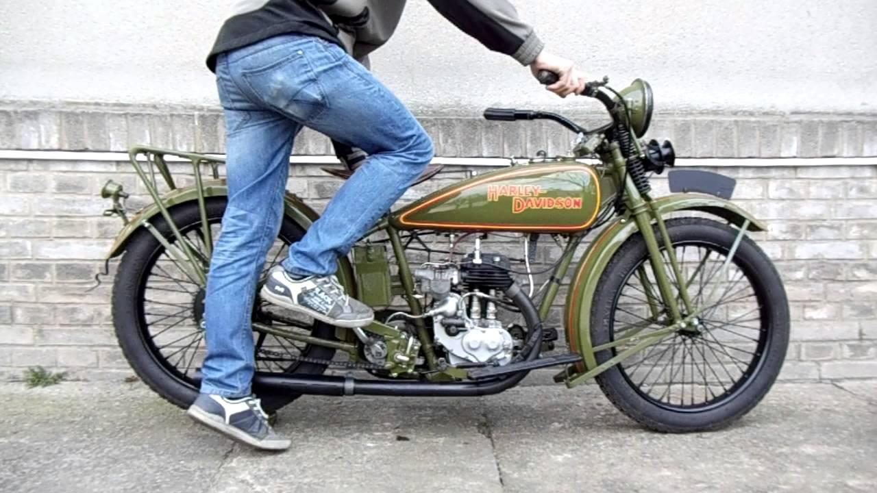 1926 Harley Davidson Peashooter: Harley Davidson 350 SV, R.v.1926