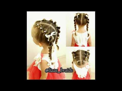 ❀  Прически с валиком для волос ❀
