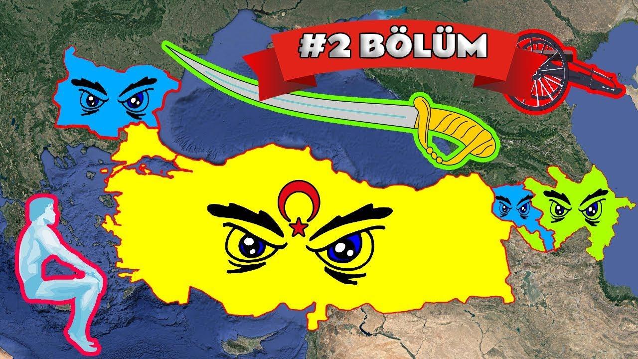 Türkiye, Azerbaycan vs Ermenistan, Bulgaristan ft. Müttefikler, Savaşsaydı? (2. Bölüm)
