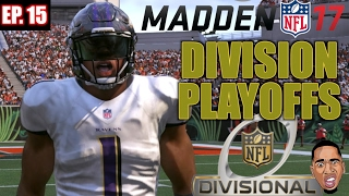 madden 17 career mode gameplay division playoff game vs chargers ep 15