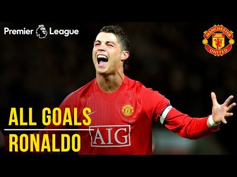 Cristiano Ronaldo   All Premier League Goals   WINNER Best Manchester United Player   1000 PL