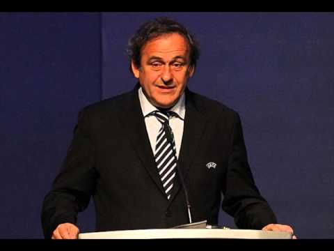 Platini FIFA Presidency of the candidates.!