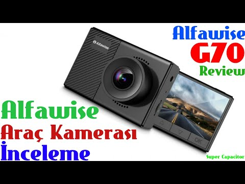 Alfawise G70 F1.5 Car DVR Dash Cam İnceleme (Review)