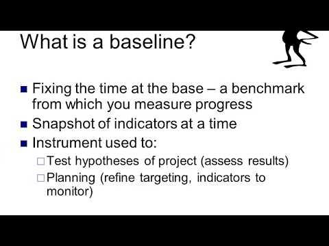 Developing High Quality Baseline Survey
