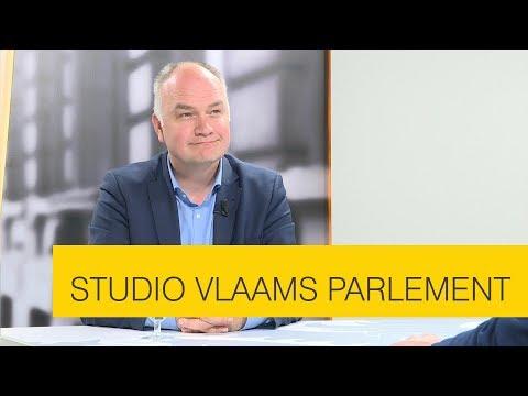 Studio Vlaams Parlement: Björn Rzoska over de klimaatambities van de Vlaamse regering