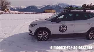 Probamos sobre la nieve el Seat Arona