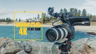 Canon C200 Cinema Camera 12 Bit RAW 4K C-Log 3 Video Test