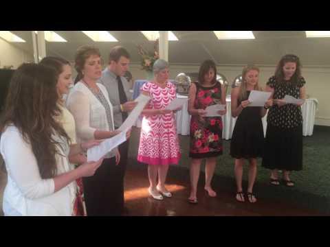Thank you, Gerry Burns  - Liberty Corner School Staff Chorus