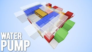 Minecraft: Automatic Water Filling Station [Water Farm!]