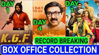 Mohalla assi Box office collection Day 4,Bhaiaji Superhit 1st day collection  KGF 1st day Collection