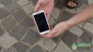 iPhone 5 vs Samsung Galaxy S3 drop test (тест на прочность)