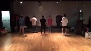 160618 Seunghoon IG Update? Dance practice for WINNER JAPAN TOUR 2016