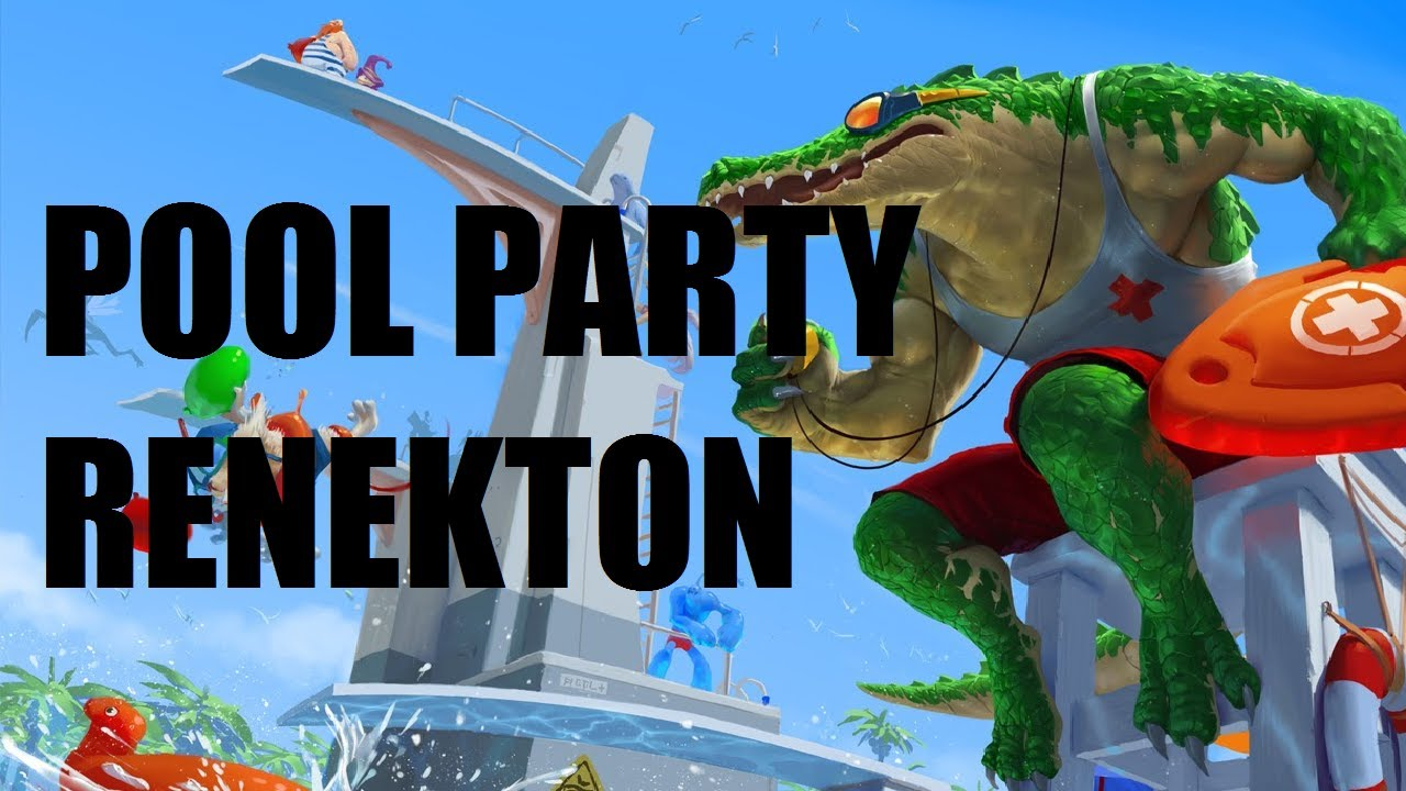 League of Legends - Pool Party Renekton - Full Game ...