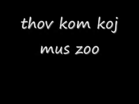 Tub Yaj - Thov Kom Koj Mus Zoo Lyrics thumbnail