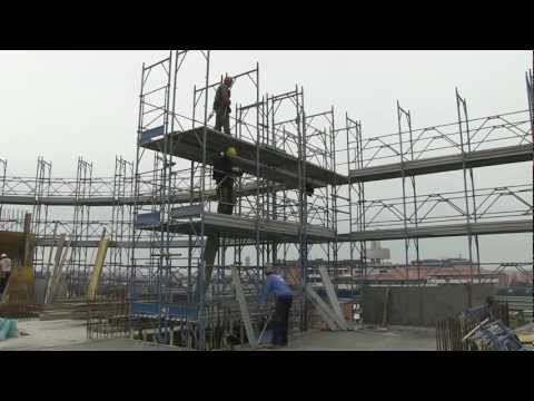 Scaffolding - safe erection