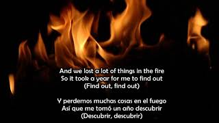 Lost in the Fire - Gesaffelstein & The Weeknd Lyrics (Ingles, Español)