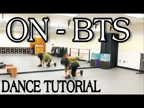 BTS 'ON' DANCE TUTORIAL PART 1