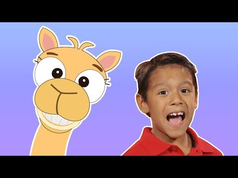 Alice the Camel 🐫 | ANIMAL COUNTING RHYMES | Mother Goose Club Playhouse Kids Video