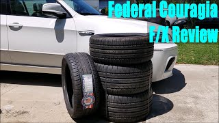 homepage tile video photo for Federal Couragia F/X Tire Review on an E70 BMW X5M