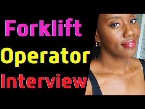 Forklift Operator Job Interview
