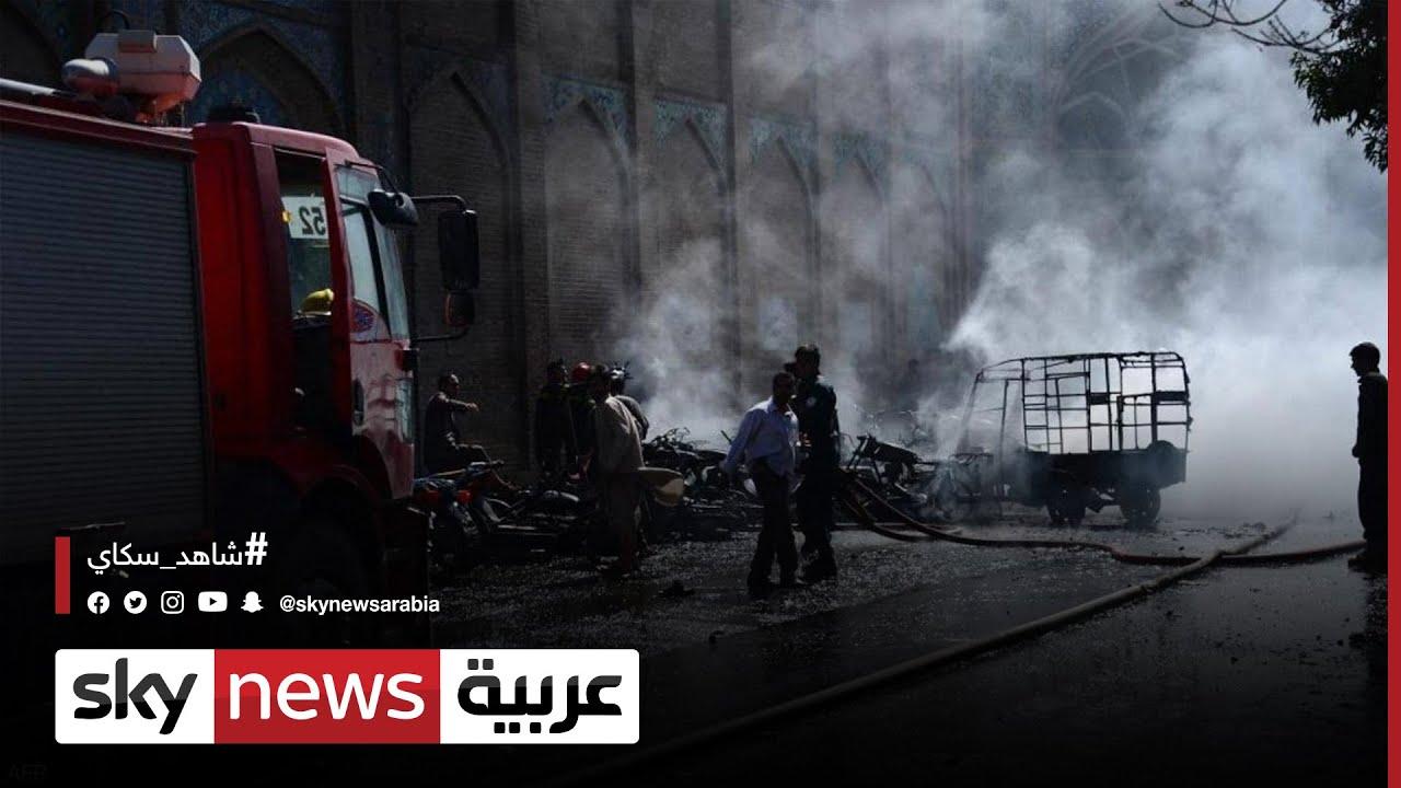 طالبان تتعهّد بتعزيز حماية المساجد بعد تفجيرات انتحارية استهدفت مساجد في كابل وقندوز وقندهار  - 03:53-2021 / 10 / 18