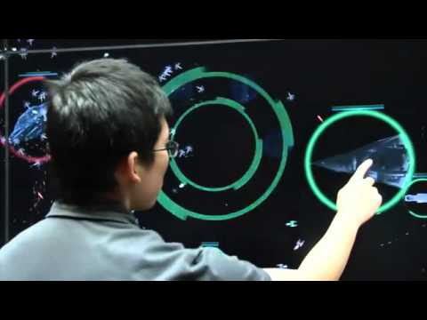 Interactive Strategy touch-screen game .flv