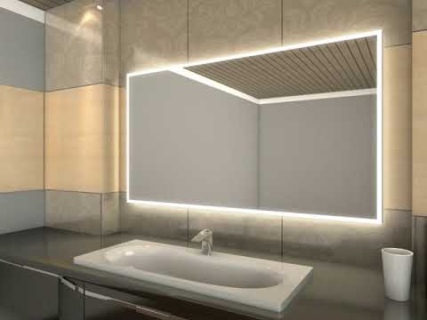 Badspiegel Mit Led Beleuchtung Caja Youtube