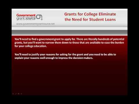 Grants For College Education