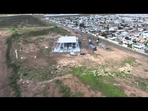 Construcción de la Basilica de Guadalupe en Chihuahua