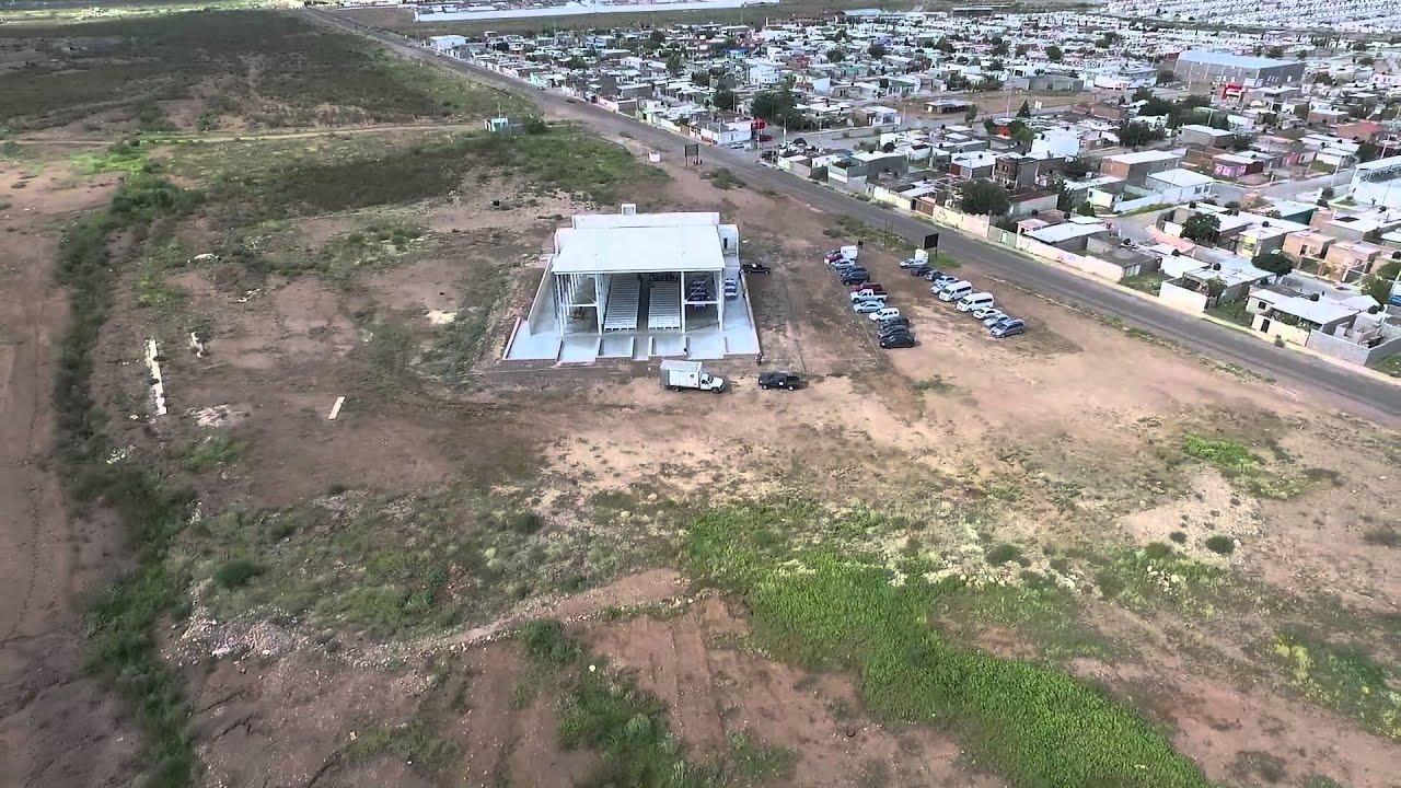 Construcción de la Basilica de Guadalupe en Chihuahua - YouTube