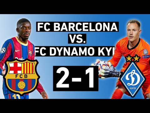 barcelona vs dynamo kyiv 2 1 goalkeepers stand out champions league match review youtube barcelona vs dynamo kyiv 2 1 goalkeepers stand out champions league match review