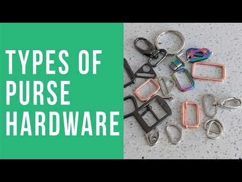 Different Types Of Purse Hardware
