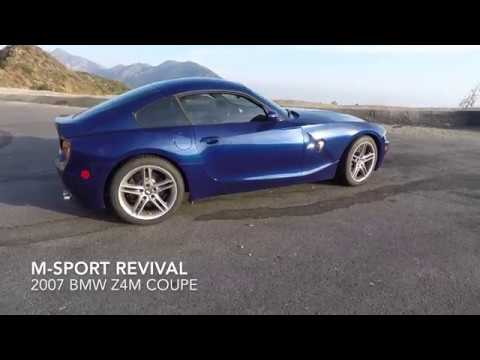 BMW ZM Coupe Review And Quick Drive YouTube - 2007 bmw z4m
