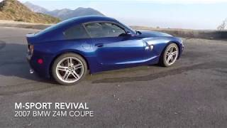 2007 BMW Z4M Coupe Review and Quick Drive