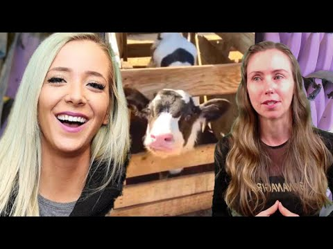 Well, This Is Sad. Freelee Reacts To Jenna Marbles Favorite TikTok With Baby Cow