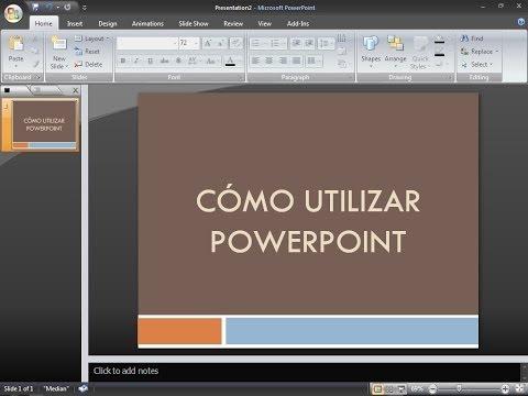 Tutorial de Microsoft Office PowerPoint 2007