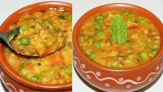 खिचङी तो बहुत खाई होगी पर ऐसी हैल्दी और टेस्टी खिचङी कभी नही खायी होगी  Mix Vegetable Masala Khichdi