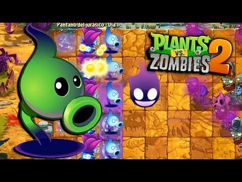 MI NUEVA PLANTA LANZAGUISANTES SOMBRIO - Plants vs Zombies 2