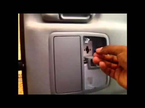 2010 rav4 interior lighting upgrade part 1 map lights youtube. Black Bedroom Furniture Sets. Home Design Ideas
