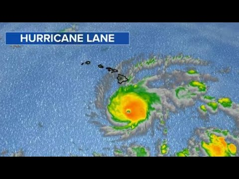 Category 5 Hurricane Lane barrels toward Hawaii