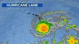 Category 5 Hurricane Lane barrels toward Hawaii
