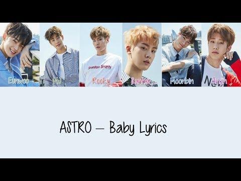 ASTRO – Baby [Hang, Rom & Eng Lyrics]