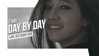 T-Ara - Day By Day (Line Distribution)
