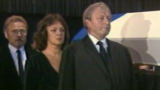 Nekrolog a pohřeb Vladimíra Menšíka (Televizní noviny ČST 1988)