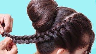Everyday Hairstyles For Medium Long hair | hair style girl || easy hairstyles 2018 | New hairstyles