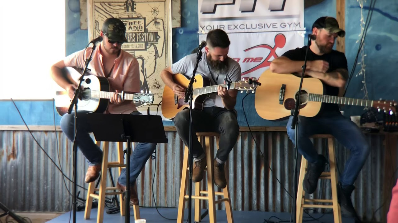 Stephen Hunley at Tybee Island Songwriters Festival