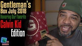 Gentleman's Box July 2018 👔 : LGTV Review